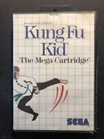 Kung Fu Kid SEGA Master System Game PAL 🇦🇺