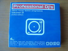 PROFESSIONAL DJ'S-VOLUMEN 2-BOX 4 CD.-NEW!!!!