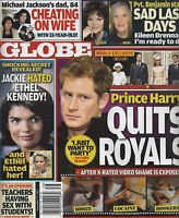 Globe Magazine September 17 2012 Prince Harry Jackie Kennedy Gwen Stefani
