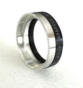 32mm to Series V (5) Tiffen Adapter Ring 538 - with Retaining Ring - NEW