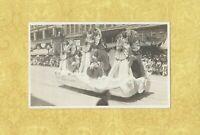 CA Los Angeles 1908-19 RPPC real photo postcard PARADE FLOAT CALIFORNIA LIPTON
