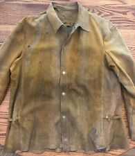 Vintage Welders Shirt Jacket Tan