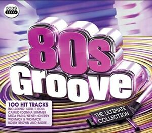 VARIOUS - '80s GROOVE / ULTIMATE COLLECTION BRAND NEW 5CD BOXSET
