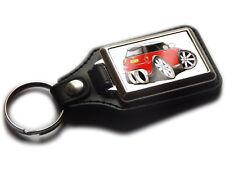 MINI COOPER S Sport Hatch Back Car Koolart Leather and Chrome Keyring