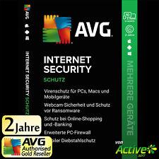 AVG Internet Security 2021 - 10 GERÄTE 2 Jahre |PC, Mac, Android, iOS| UE DE