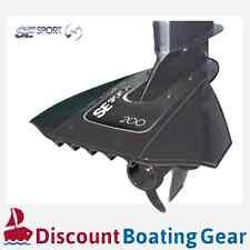 SE SPORT SE200 Hydrofoil Black Marine Boating Outboard Sterndrive 8-40HP BLACK