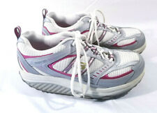 Skecher Shape-ups white Pink silver womens sneakers tennis shoes 11814 Size 9