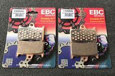 2x EBC fa252hh balatas Yamaha YZF r6, FZS 600, 1000, rj02, rj03, rn06, 4vd