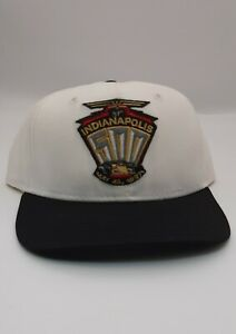 81st Indy 500 Vintage 1997 Patch Logo DeLong Snapback Hat Cap Made In USA