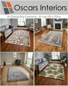 Clearance Rugs - 120 x 170cm, Various Designs Available