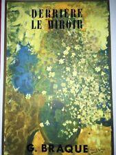 GEORGES BRAQUE- LE BOUQUET JAUNE -COVER ORIGINAL LITHOGRAPH FOR DLM -1952