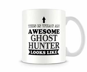 Awesome Ghost Hunter - Funny Mug by Behind The Glass