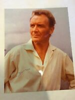JOHN MILLS  Hand Signed Autographed 8 X10 PHOTO