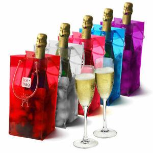 Ice Bag Wine Cooler Portable Bottle Cooler Bottle Gift Bag Various Colours