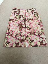 monsoon size10 summer skirt floral pattern