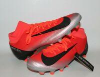 Nike CR7 Superfly 6 Academy Soccer Cleats Bright Crimson AJ3541-600 Sz 10.5