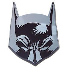 Batman Mask Chrome Auto Emblem