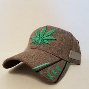 Marijuana Baseball Cap/Hat Kush Cannabis  Hemp