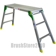 Clow Large 73cm Hop Up Folding Aluminium Step Bench Work Platform