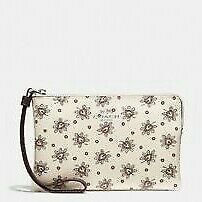 COACH WRISTLET FLORAL WALLET FOR WOMEN WITH ORGANIZER