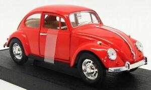 Road Legends 1/24 Scale Model Car 93079 - 1967 Volkswagen Beetle - Red