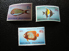 indonesia - stamp yvert and tellier N° 622 a 624 n (A17) stamp indonesia
