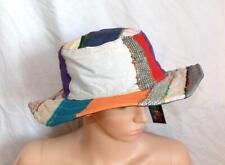 a1d8e405739e83 NEW GRINGO FAIR TRADE PATCHWORK FUNKY HIPPY FESTIVAL BOHO SUMMER WIDE BRIM  HAT
