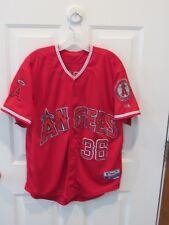Jered Weaver Los Angeles Angels MLB baseball jersey Majestic men's size 48 sewn