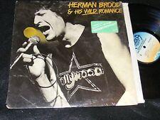 HERMAN BROOD & HIS WILD ROMANCE US Issue Original SHRINKWRAP w Hype Sticker LP