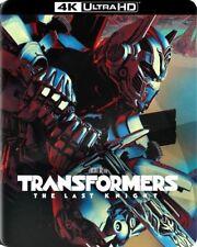 Transformers The Last Knight STEELBOOK Dig Copy 4K Ultra HD Blu-ray best buy