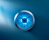 Funk-Wanduhr mit Zifferblatt-Beleuchtung & Lichtsensor kabellos Funkuhr Büro Uhr