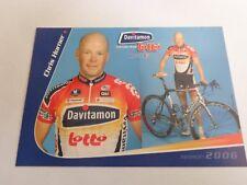 wielerkaart 2006 team lotto chris horner
