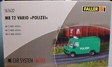 Faller 161632, Spur H0, Faller Car System MB T2 Vario Polizei
