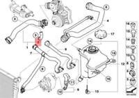 BMW E46 E53 E60 Radiator EGR Valve Cooler Hose 7789600 17127789600 NEW