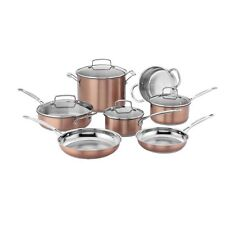 Cuisinart CSS-11BU 11pc Set Stainless Color Blushaccs Chefs Classic (css11bu)