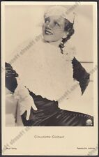 CLAUDETTE COLBERT 13 ATTRICE ACTRESS ACTRICE FRANCE CINEMA MOVIE Cartolina FOTOG