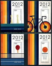 Ghana 2707-2710 MNH  Sports Summer Olympics Games London 2012 Cicling x16666