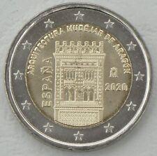 2 Euro Spanien 2020 Mudéjar Architektur in Aragon unz.