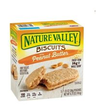 Nature Valley Peanut Butter Biscuits 5 Pouches FREE WORLDWIDE SHIPPING