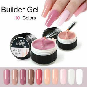 15ml Liquid Nail Builder Hard Gel Quick Extension Mineral Building Gel UK HOT