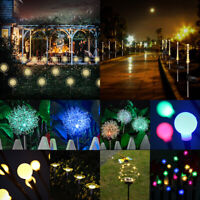 Solar LED Garden Lights Lawn Yard Ornament Outdoor Waterproof Novelty Lamp Decor