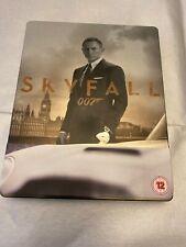 James Bond - SKYFALL BLU-RAY STEELBOOK (+ DVD) VGC.