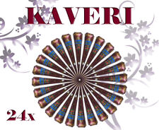 Pack of 24 Kaveri Henna Cones for traditional Brown Mehandi   Temporary Tattoo