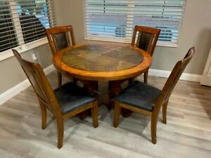 Pottery Barn Contemporary Large Espresso Dining Table