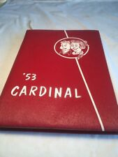 1953 Covina High School Year Book.