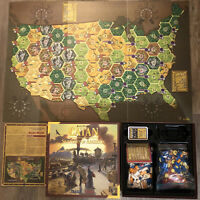 CATAN HISTORIES Settlers Of America Trails To Rails Board Game 3203