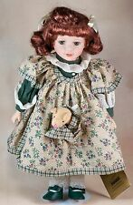 Betsy Seymour Mann Connoisseur Collection Porcelain Doll With Tags 15 Inch 1999
