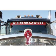 """RED Windscreen Decal """"KENWORTH"""", B&S,UTE,PROMOTION,CHEV,PICKUP,DRAG,F100"""