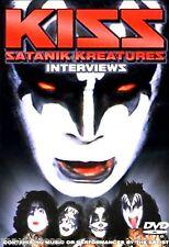 DVD - KISS - Satanik Kreatures - Interviews (MINT & SEALED - NUEVO Y PRECINTADO)