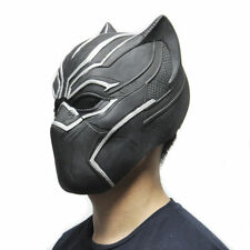 Halloween Party Masks Cool Black Panther Mask Movie Fantastic Four Cosplay Latex